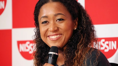 <p>               Naomi Osaka,  the champion of U.S. Open women's singles, smiles during a press conference in Yokohama, Thursday, Sept. 13, 2018. Osaka defeated Serena Williams of the U.S. on Saturday, Sept. 8, to become the first Grand Slam singles champion from Japan. (AP Photo/Koji Sasahara)             </p>