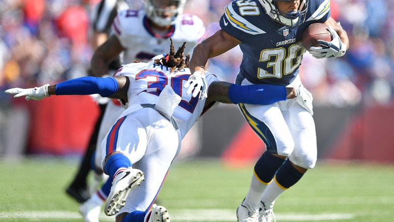 Chargers hoping to establish run game early against Rams