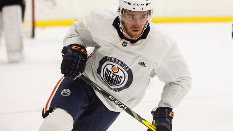 <p>               FILE - In this Sept. 14, 2018, file photo, Edmonton Oilers' Connor McDavid (97) skates during NHL hockey training camp in Edmonton, Alberta. McDavid heard teammates talking about another potential lockout when he entered the NHL in 2015. As he became one of hockey's best players and signed the richest annual contract in the league, McDavid protected himself against that lockout even if he's optimistic it will be avoided the way work stoppages in 2004-05 and 2012-13 weren't. (Jason Franson/The Canadian Press via AP, File)             </p>
