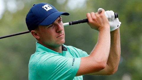 "<p>               FILE - In this Aug. 8, 2018 file photo Jordan Spieth watches his tee shot on the 15th hole during a practice round for the PGA Championship golf tournament at Bellerive Country Club in St. Louis. Spieth shed a little insight on his expectations at the start of 2016 when he said his goals start with winning and include ""being there"" with a chance in a couple of major championship. He only got part of that correct this season. Now he might look at not waiting until January to start the next season. (AP Photo/Jeff Roberson, file)             </p>"