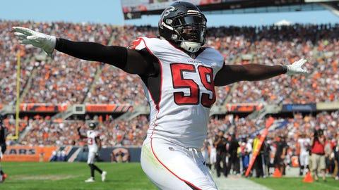 De'Vondre Campbell, OLB, Atlanta Falcons