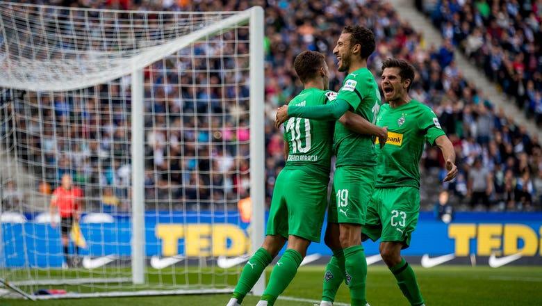 Hertha BSC Berlin vs. Monchengladbach | 2018-19 Bundesliga Highlights