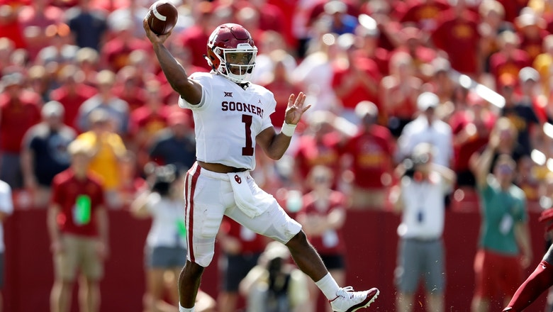 No.5 Oklahoma takes care of Iowa State behind another strong showing from Kyler Murray