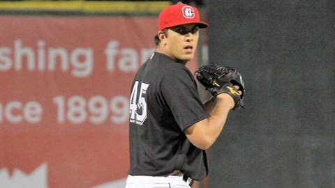 PITCHER OF THE YEAR: Andrew Vasquez (32nd round, 2015), LHP, Fort Myers/Chattanooga/Rochester