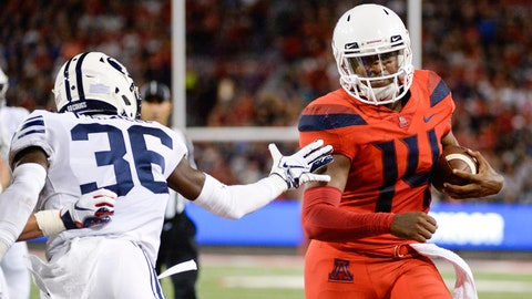 Fall Guys: Khalil Tate, QB Arizona