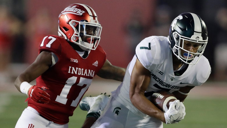 Indiana's slow start proves costly in 35-21 loss to No. 24 Michigan State