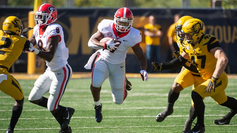 No. 2 Georgia snaps Missouri's nine-game regular season winning streak