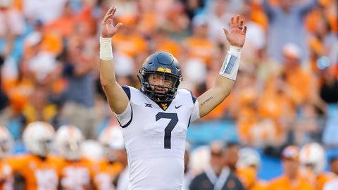 On The Rise: Will Grier, QB West Virginia