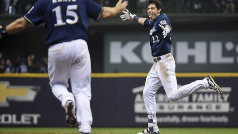Christian Yelich, Brewers outfielder (⬆ UP)