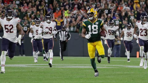 Randall Cobb, Packers receiver (↑ UP)