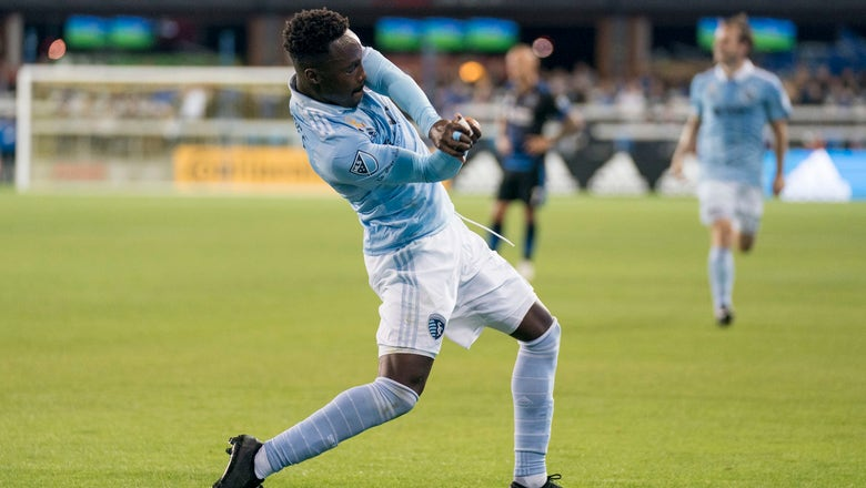 Sporting KC moves back into first place with 5-1 win over Earthquakes