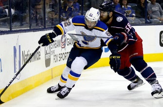 Blues assign seven more players to San Antonio