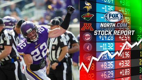 Harrison Smith, Vikings safety (↑ UP)