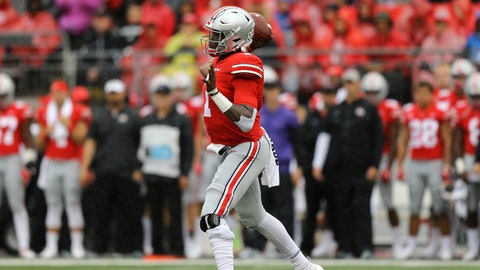 ON THE RISE: Dwayne Haskins, Ohio State QB