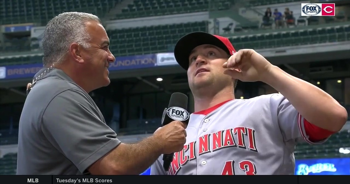 Scott Schebler was 'bugged' by all the Miller Park mosquitoes