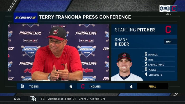 Terry Francona has had Shane Bieber on his radar for a while