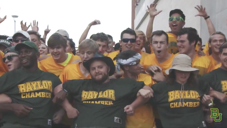 WATCH: The Baylor Line - A Tradition Unlike Any Other In College Football