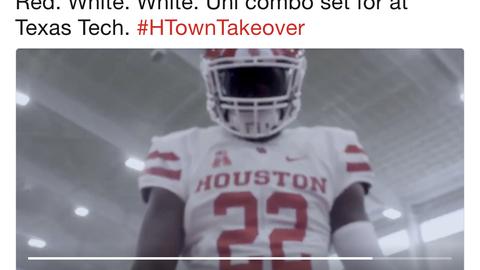 Houston Cougars vs. Texas Tech Red Raiders