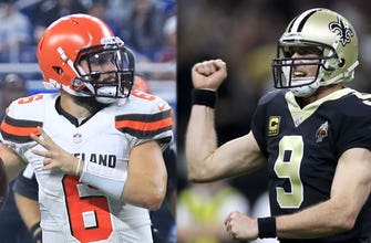 Drew Brees and Baker Mayfield are being compared because they are both short — Colin Cowherd thinks we can stop now