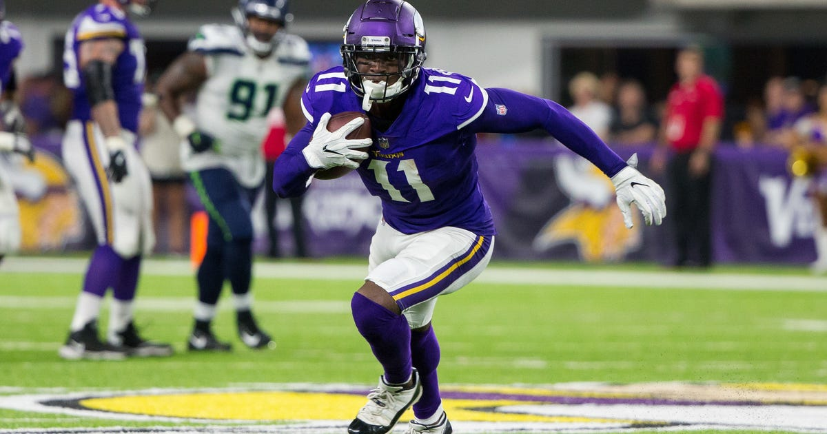 Former 1st-round pick Treadwell being 'showcased' as Vikings look for receivers | FOX Sports