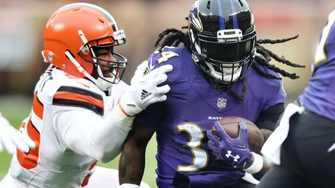 START: Alex Collins, RB, Ravens: