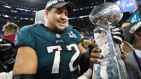 Halapoulivaati Vaitai - Philadelphia Eagles - Offensive Tackle