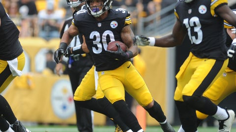 SIT: John Conner, RB, Steelers: