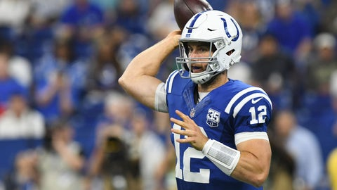 Indianapolis - Andrew Luck - 29 - 9/12/1989