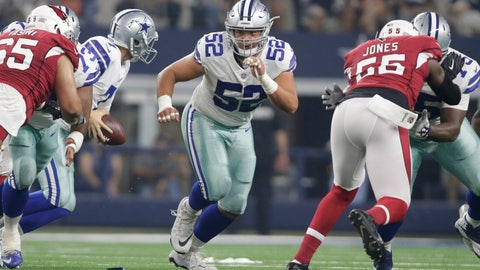 Connor Williams - Dallas Cowboys - Guard