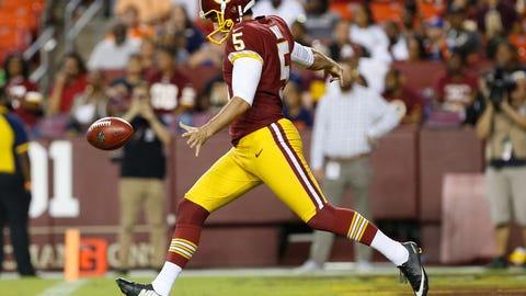 Tress Way - Washington Redskins - Punter