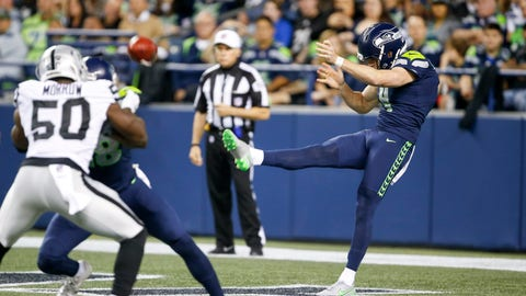 Michael Dickson - Seattle Seahawks - Punter