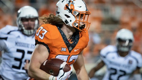 23. Oklahoma State Cowboys (225 Points)