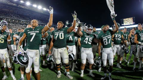 13. Michigan State Spartans (733 Points)