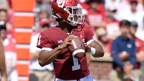 5. Oklahoma Sooners (1312 Points)