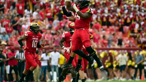 NCAA Football: Texas at Maryland