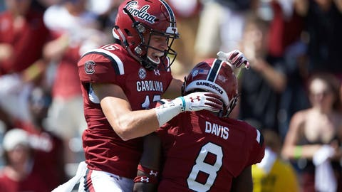 24. South Carolina Gamecocks (189 Points)