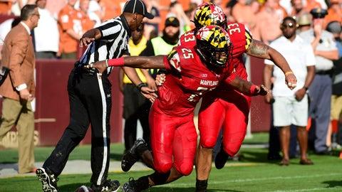 NCAA Football: Texas at Maryland