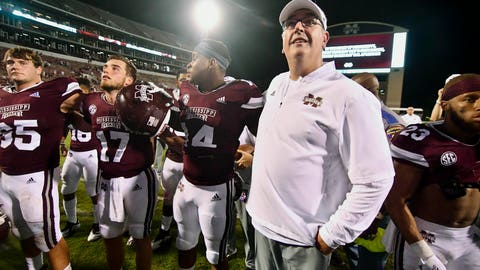 18. Mississippi State Bulldogs (531 Points)