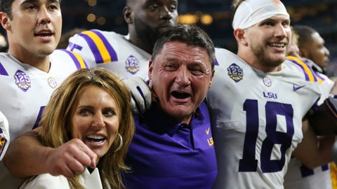 15. LSU Tigers (724 Points)