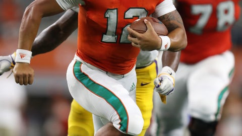 NCAA Football: Miami at Louisiana State