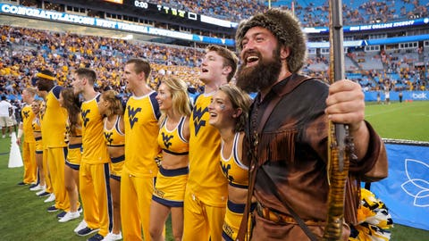 17. West Virginia Mountaineers (612 Points)