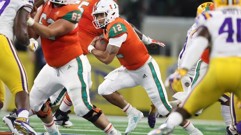 21. Miami Hurricanes (277 Points)