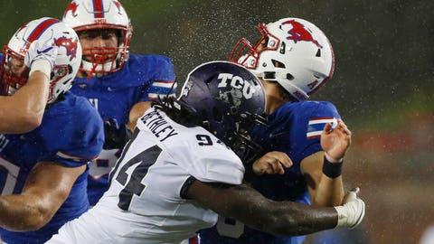 NCAA Football: Texas Christian at Southern Methodist