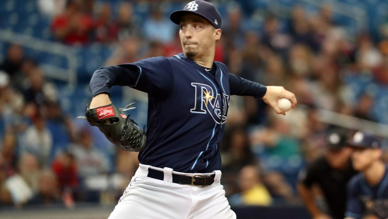 Rangers battle baseball's best pitcher this season in Tampa's Blake Snell Tuesday night
