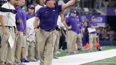 NCAA Football: Ohio State at Texas Christian