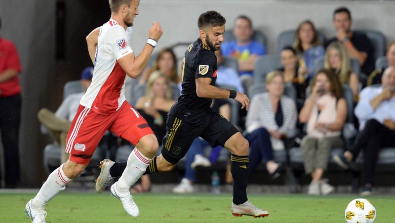LAFC allows late equalizer, remains unbeaten in last five