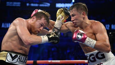 Boxing: Alvarez vs Golovkin 2