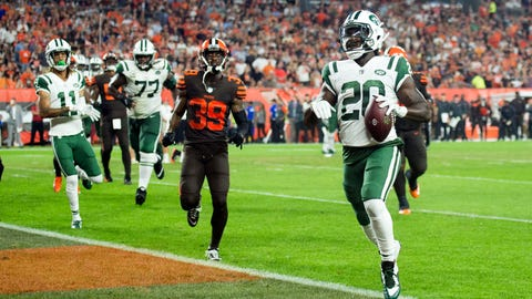 SIT: Isaiah Crowell, RB, Jets: