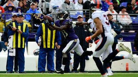 START: John Brown, WR, Ravens: