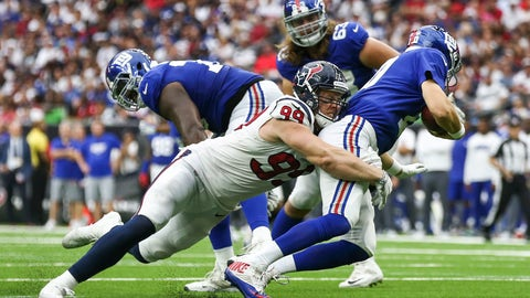 NFL: New York Giants at Houston Texans